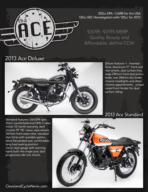 Cleveland Cyclewerks Ace Wallpapers by 2013 Cleveland Cyclewerks Ace Deluxe Review
