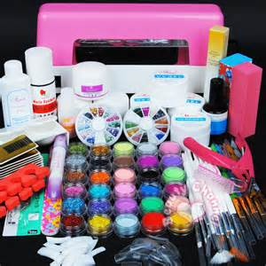 Acrylic nails kit cute
