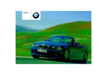 car service manuals pdf 2003 bmw m3 electronic valve timing 2003 bmw m3 convertible owner s manual pdf 166 pages