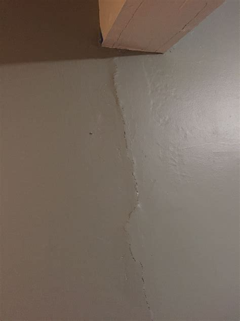 Cracks In Basement Wall Carpentry Contractor Talk Fix
