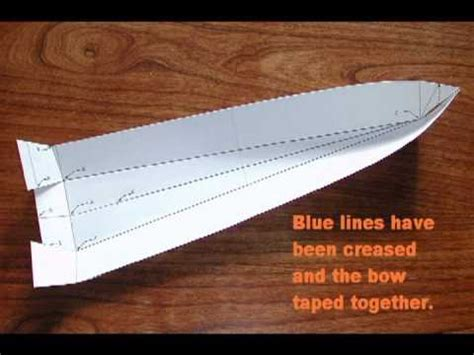 How To Make A Paper Rc Boat by 1 How I Build My Model Boat Hulls Out Of One Of