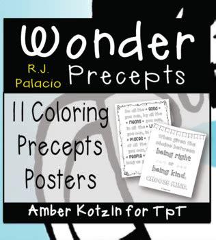 precepts posters  amber kotzin teachers pay