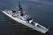 Destroyer Escort Photo Index DE-1088 USS BARBEY