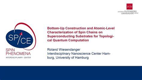 Bickel, boris wolter, kirsten von bergmann, andré kubetzka, roland wiesendanger. Talks - Exotic New States In Superconducting Devices ...
