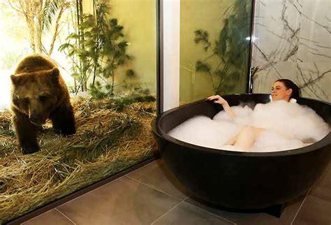 fare l nella vasca da bagno l hotel dove fare un safari stando sdraiati nella vasca da