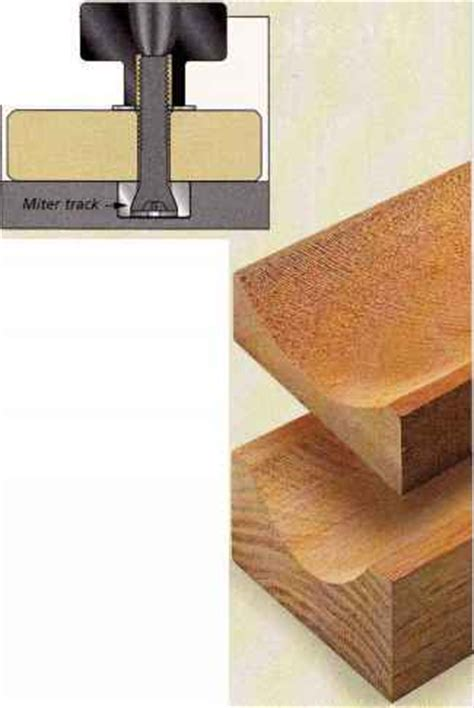 table saw tips and tricks another option horizontal bit with a back cutter table