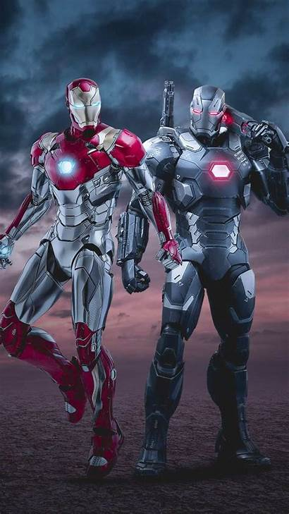 Iron Machine War 4k Iphone Marvel Wallpapers