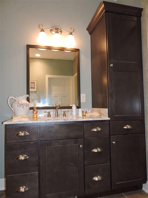Homecrest Cabinets Bathroom Vanity by Bath Cabinet Homecrest Cabinets Maple Buckboard Vanity