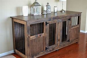 custom dog crate half panel front pinemain With custom dog kennel furniture
