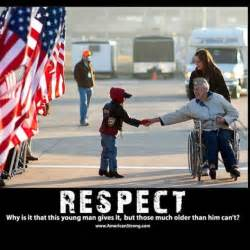 We Respect Our Veterans