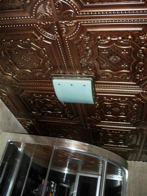 Cheap Ceiling Tiles 24x24 by Elizabethan Shield Faux Tin Ceiling Tile 24 Quot X24 Quot Dct 04