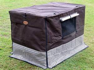 collapsible dog crate canvas cover 36quot new xlarge ebay With collapsible canvas dog crate