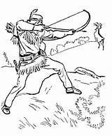 Coloring Pages Hunting Deer Sheets Lone Ranger Printable Tonto Bow Hunter Hunt Drawings Drawing Clipart Adults Adult Characters Coloringhome Prints sketch template