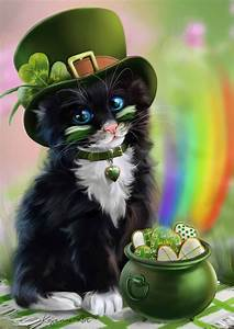 94 best images about St Patrick's Day cats on Pinterest ...