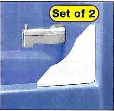 tub shower splash guards set of 2 amazon co uk kitchen
