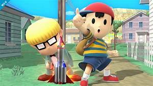 Screenshots Of Ness In Smash Bros Wii U EarthBound Central