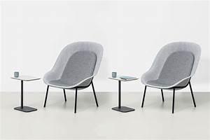 De Vorm Nook stoel van PET