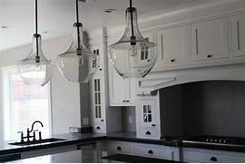 Photos Of Kitchens With Pendant Lights by 20 Glass Pendant Lights For Kitchen Island 4794 BayTownKitchen