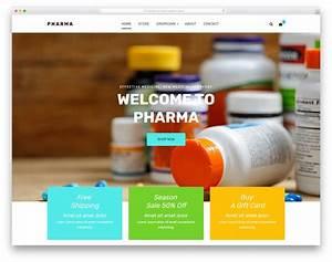 Pharma - Free Pharmacy Website Template 2019