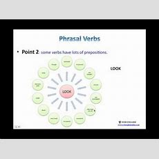 English Phrasal Verbs Youtube