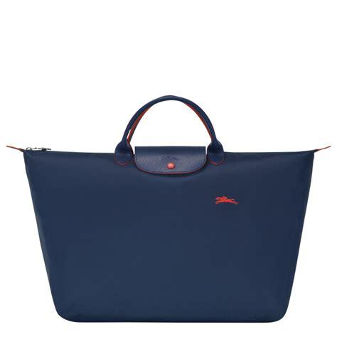 sac de voyage le pliage club navy  longchamp fr