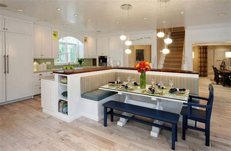 kitchen table  bench seating  totally