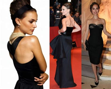 Natalie Portman Perfects Her Looks In Black Outfits