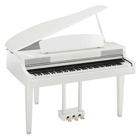 Yamaha Clp465 Piano à Queue, Blanc Brillant Avec Banc