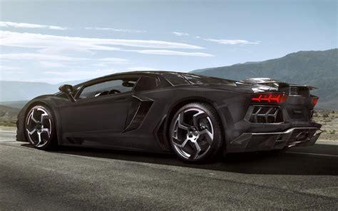 Black Car Lamborghini Wallpapers HD / Desktop and Mobile ...