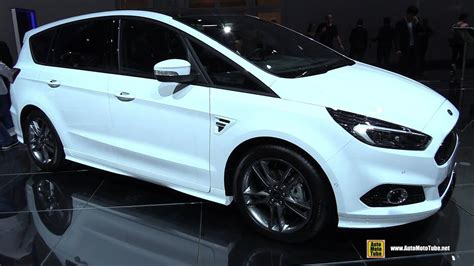 ford s max 2018 2018 ford s max st line exterior and interior walkaround
