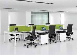 Green, Is, Fresh, Office, Furniture, Desks, Seating, Screens, Green, Interiors, White, Minimali