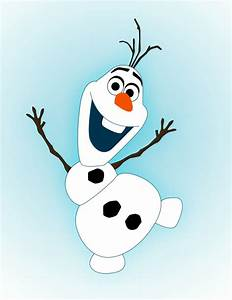 How To Draw Olaf From Frozen - Draw Central