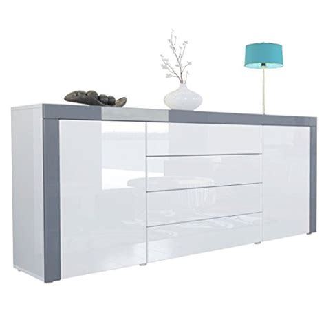 High Gloss White Sideboard by White Gloss Sideboards Co Uk