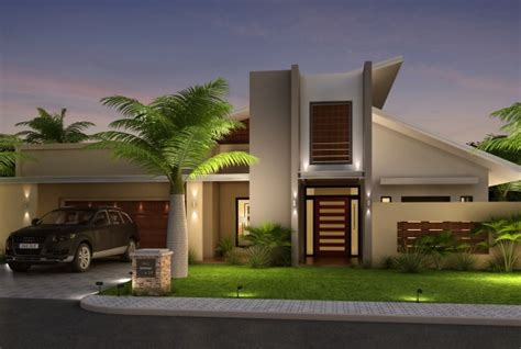 Simple And Trendy Modern House Elevation