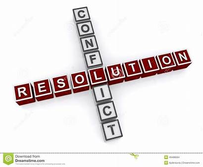 Conflict Resolution Conflits Words Clipart Letter Conflicto