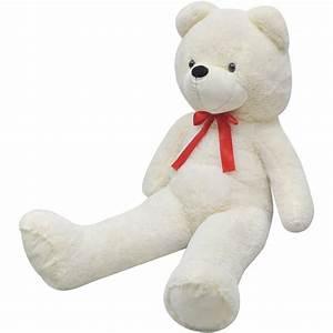 200 Cm Teddy : vidaxl teddy bear cuddly toy plush white 200 cm ~ Frokenaadalensverden.com Haus und Dekorationen