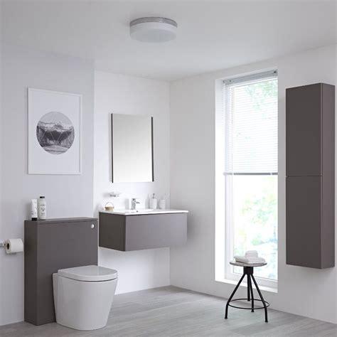 Ideas For Gray Bathroom by On Trend Grey Bathroom Ideas Bigbathroomshop
