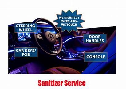 Interior Sanitizing Service Disinfectant Screen