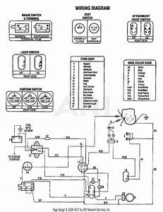 Troy Bilt 13034 13hp Gear Drive Tractor  S  N 130340100101  Parts Diagram For Wiring Diagram