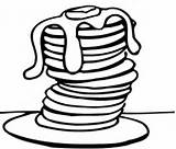 Syrup Maple Clipart Clip Pancakes Bottle Cartoon Clipground Cliparts Butter sketch template