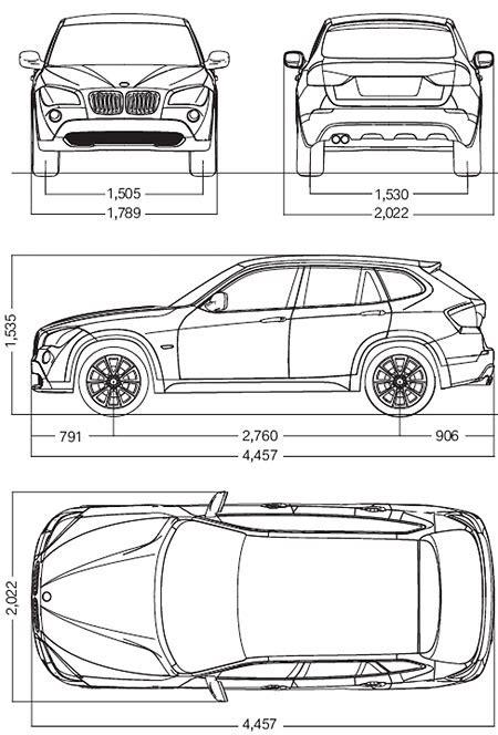 Bmw X5 Dimensions by Dimension Bmw X5 Bmw X5 Technical Data Autos Weblog Bmw