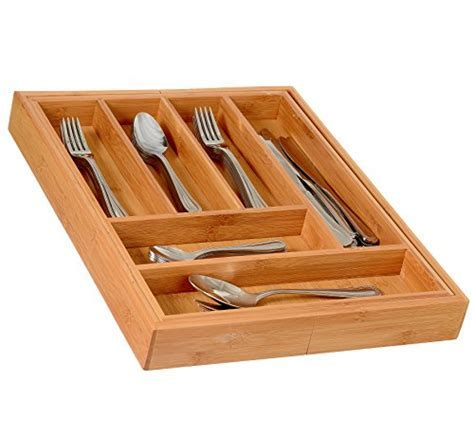 Best Home it Expandable Cutlery Drawer Organizer, utensil