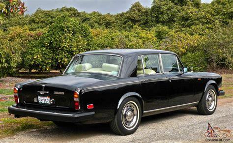 1980 Rolls Royce Silver Shadow by 1980 Rolls Royce Silver Shadow Ii Base Sedan 4 Door 6 7l W