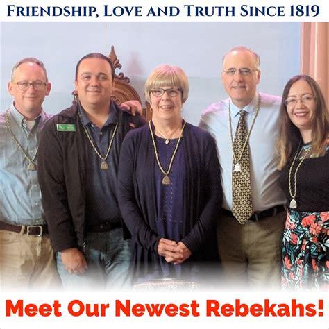 Newest Rebekahs - Lompoc Odd Fellows and Rebekahs