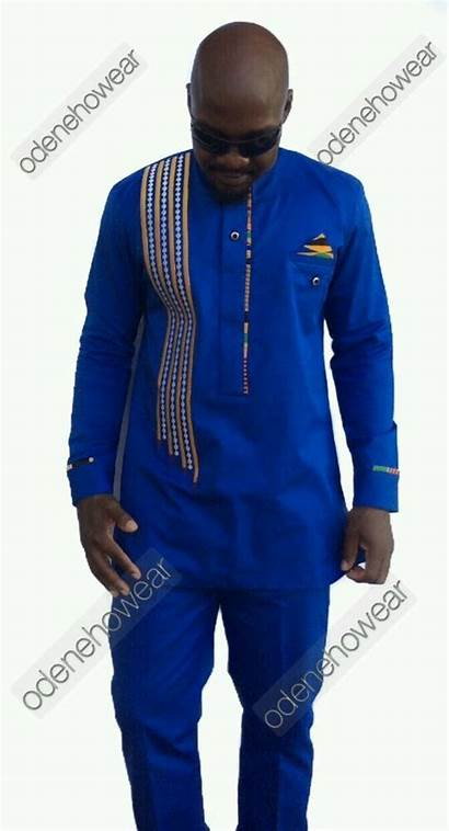 Wear African Cotton Clothing Mens Polished Homme