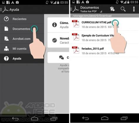 pdf reader android c 243 mo firmar pdf en android con adobe reader android jefe