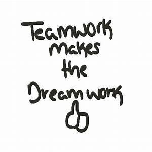 Teamwork makes the Dreamwork (Counter Strike: Source > Sprays > Graffiti) GAMEBANANA