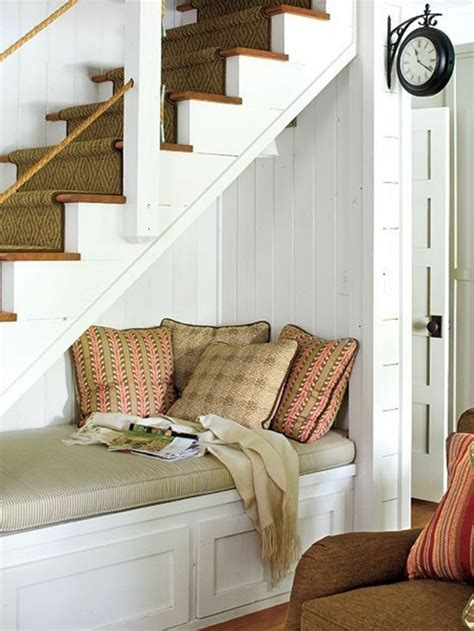seating ideas room  stairs  stairs nook