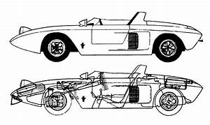 the 1962 ford mustang i prototype silodrome With 1953 jaguar c type