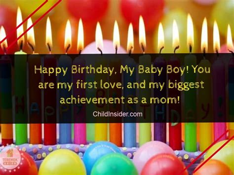 50 Best Birthday Quotes & Wishes for Son from Mother ...